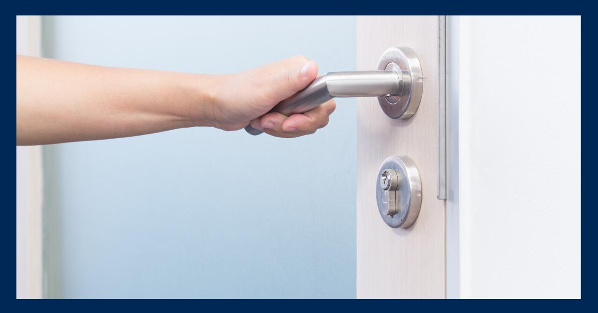 COMMERCIAL DOOR HARDWARE CLEANING TIPS